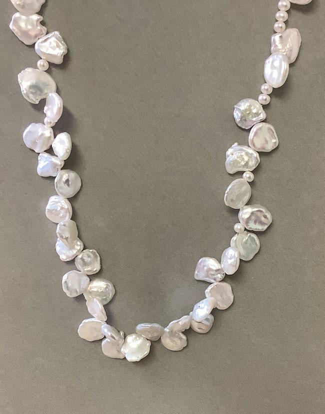 Pearl RARE Rose Petal Pearls IMG_0243